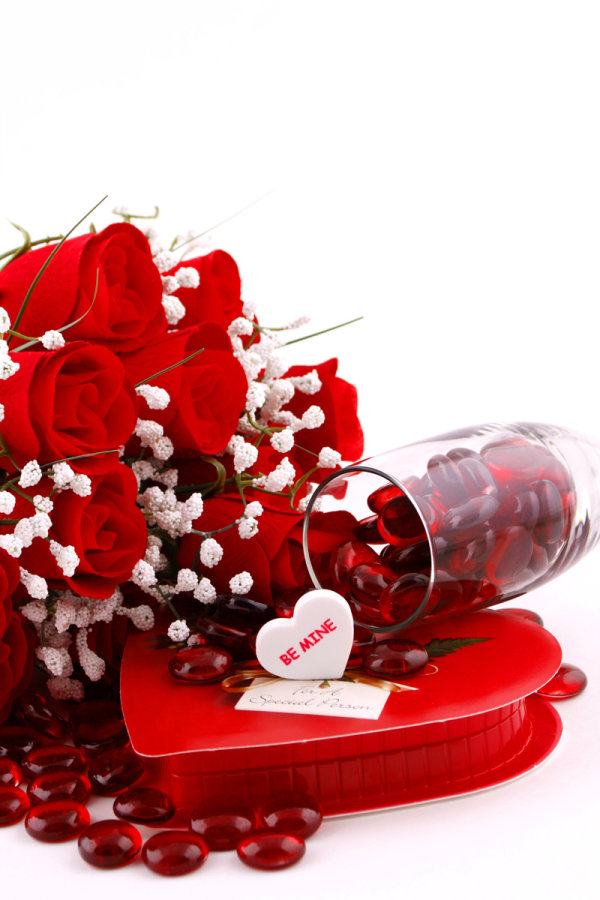 ++ HD picture material flowers and gifts 02++