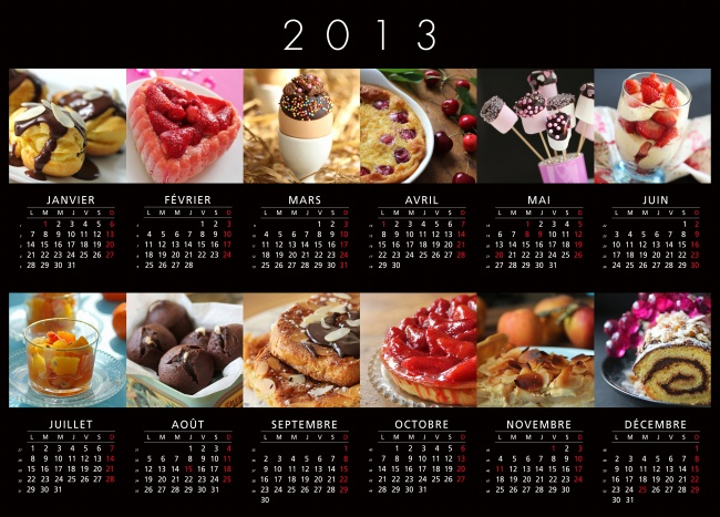 2013 calendar HD pictures