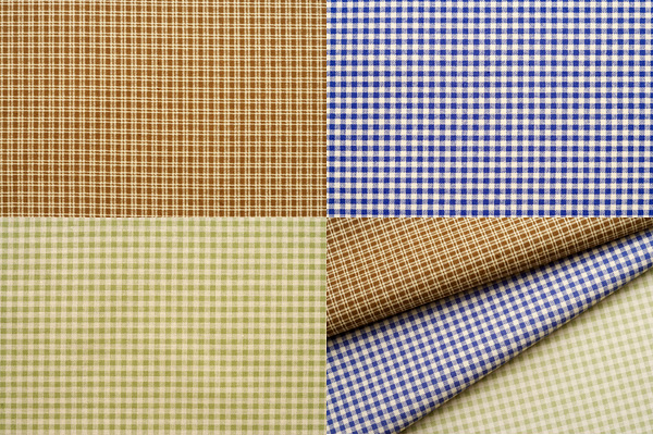3 pigment plaid fabric background high definition pictures (4P)