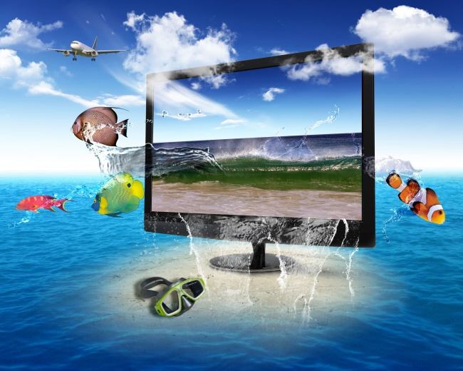 3D display advertising pictures