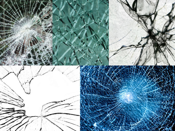 5 glass cracked HD pictures