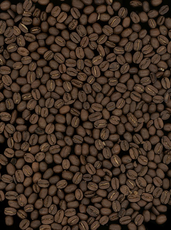 Background boutique coffee beans picture material