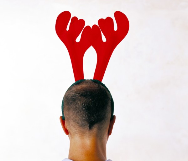 Bald head with antlers HD pictures