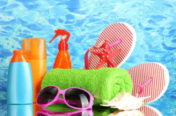 Beach vacation supplies 02-HD pictures