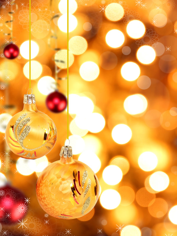 Beautiful Christmas design elements -43--HD pictures