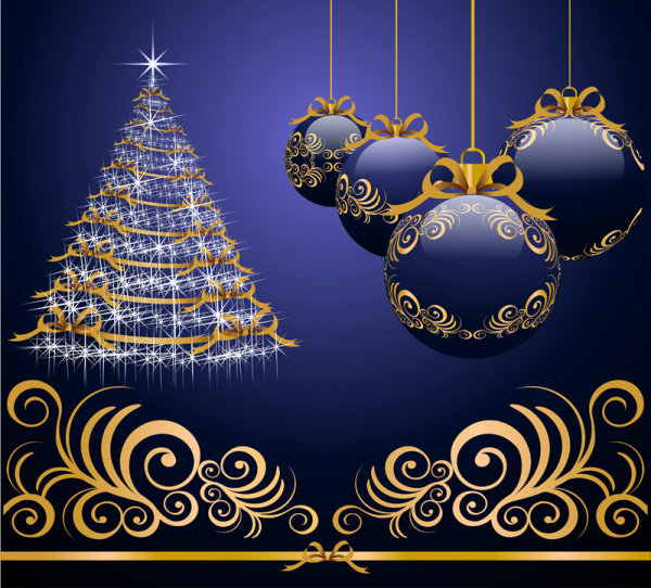 Beautiful Christmas design elements -46--HD pictures