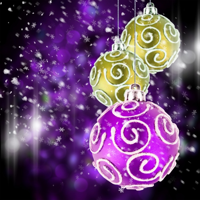 Beautiful Christmas ornaments pictures