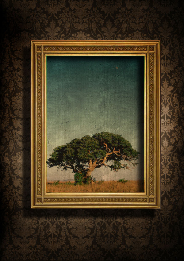 Beautiful textured frame 05--HD pictures