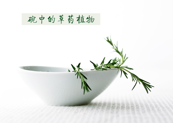 Bowl of herbal plants in HD pictures