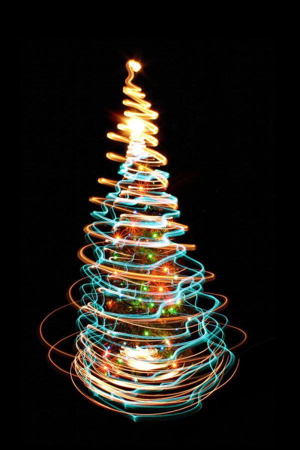 Bright glow Christmas tree 04--HD pictures