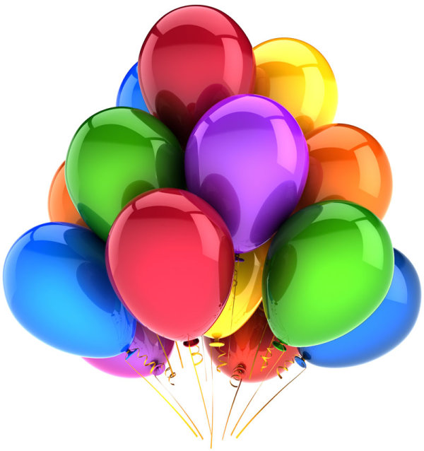Brilliant colored balloons 02--HD pictures
