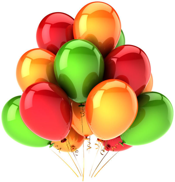 Brilliant colored balloons 07--HD pictures