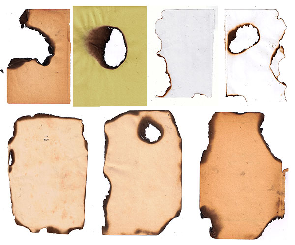 Burned paper HD pictures