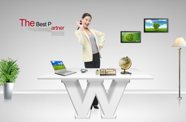 Business Desk PSD 02