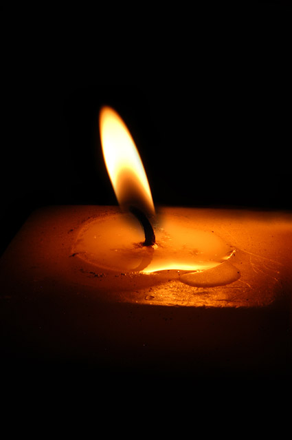 Candle picture material-1