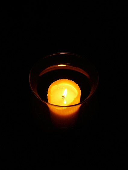 Candle picture material-2