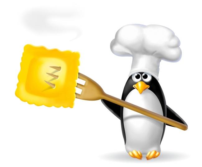 Cartoon chef Penguin pictures
