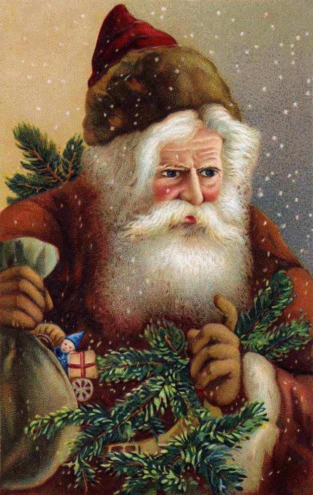 Cartoon Santa Claus pictures download