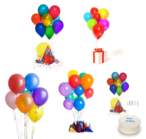 Celebrating a birthday balloon HD pictures