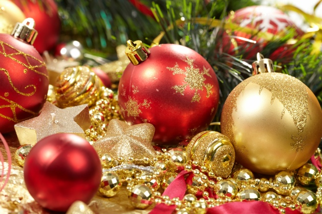 Christmas background picture material download