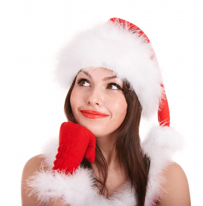Christmas beauty photo picture