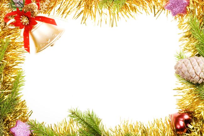 Christmas border image download