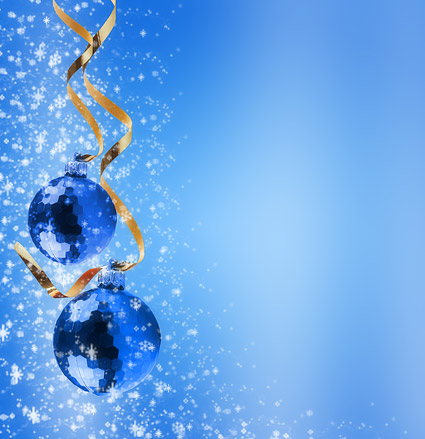 Christmas decoration balls picture material