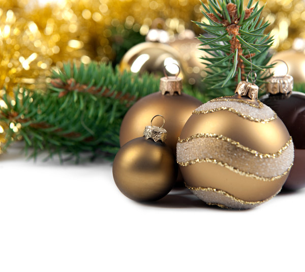 Christmas hanging ball HD pictures