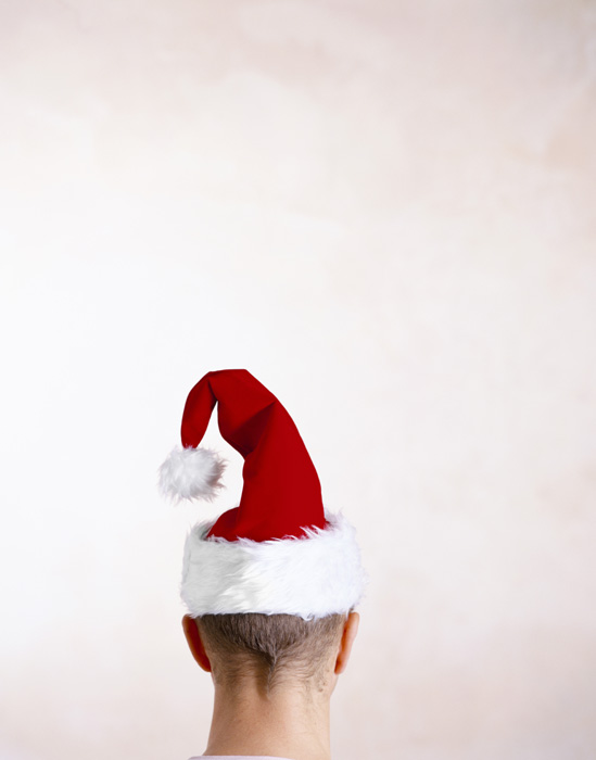 Christmas hat for bald HD pictures