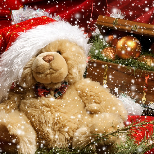 Christmas Pooh picture download