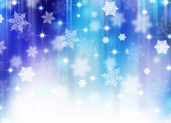 Christmas snowflake background-HD pictures 4