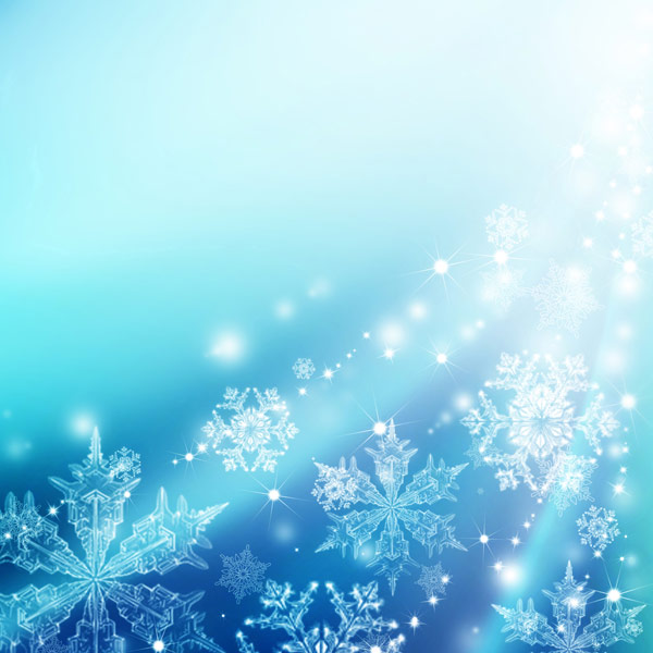 Christmas snowflakes fantasy backgrounds 02--HD pictures