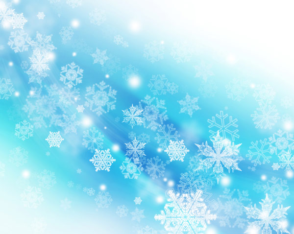 Christmas snowflakes fantasy backgrounds 04--HD pictures