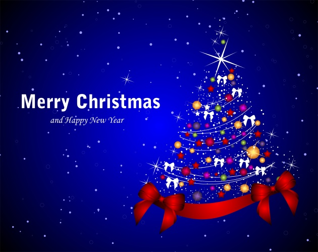 Christmas trees background pictures to download