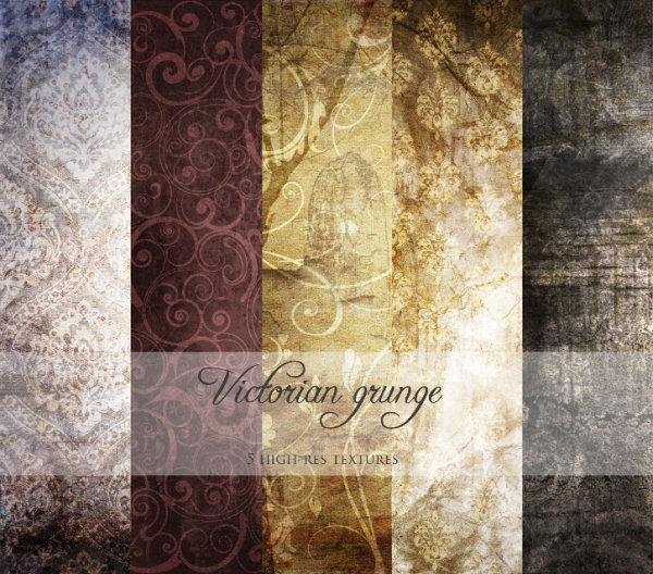 Classical pattern background shading HD Photo (5P)
