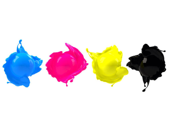 CMYK color dye 04--HD pictures