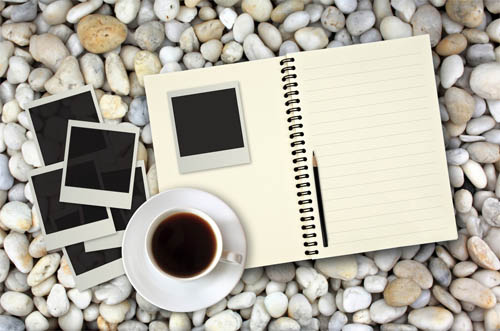 Coffee with Notepad 01--HD pictures