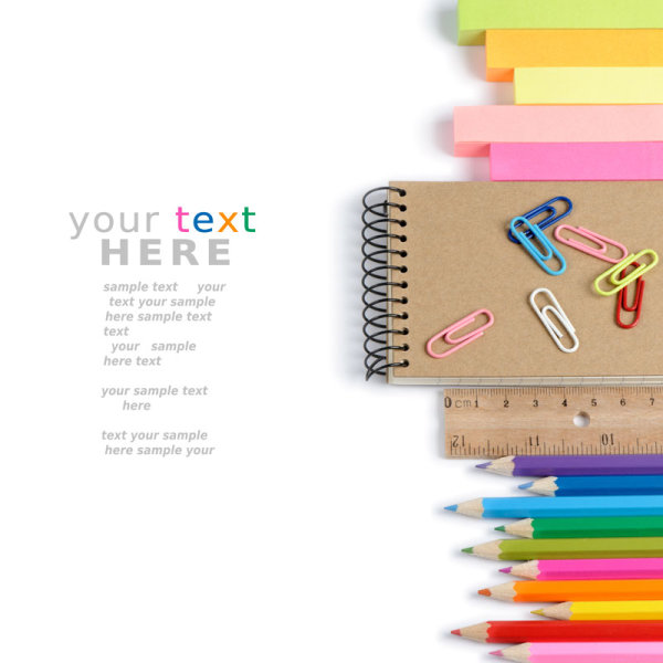 Color stationery 01-HD pictures