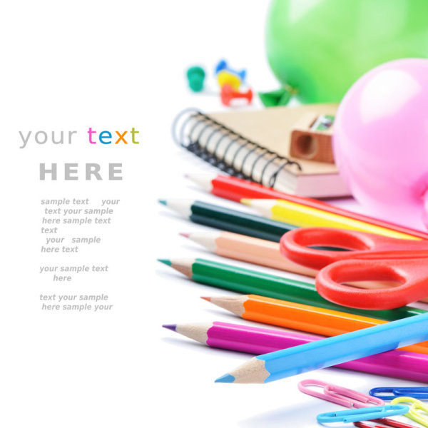 Color stationery 04-HD pictures