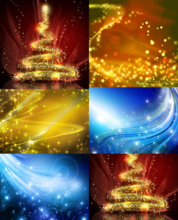 Colorful Christmas background-HD pictures