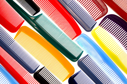 Colorful Combs background picture material