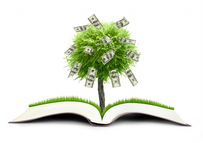 Creative money tree-picture download