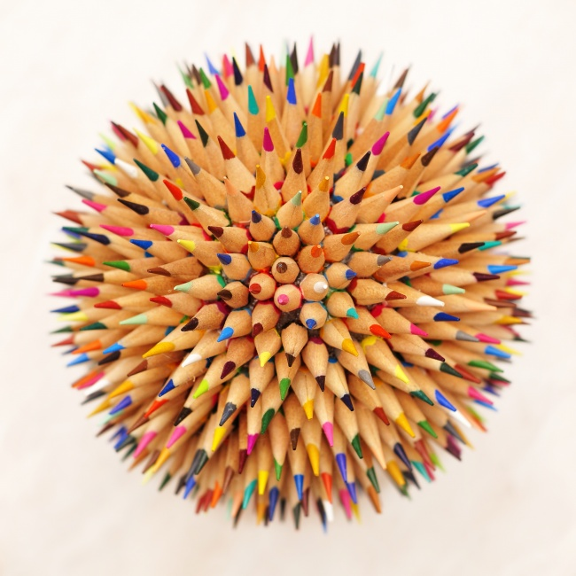 Creative pencil ball picture download