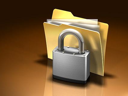 D lock folder picture material