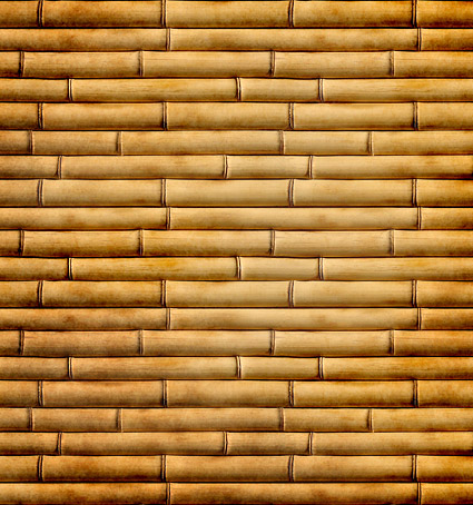 Dried bamboo background picture material