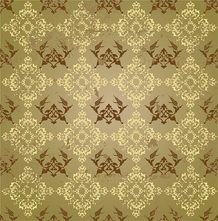 European continuous background pattern picture material