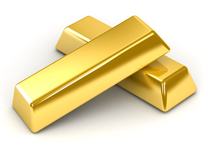 Gold bar quality picture material-2