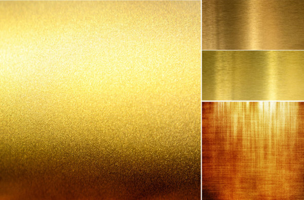 Gold brushed metal texture backgrounds HD pictures
