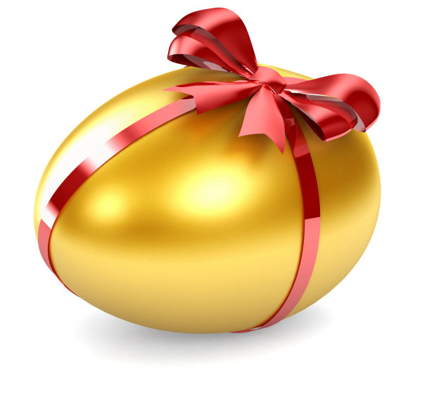 Golden egg high definition pictures