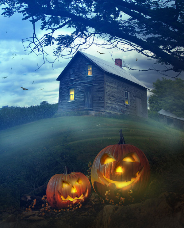 Halloween background 03--HD pictures